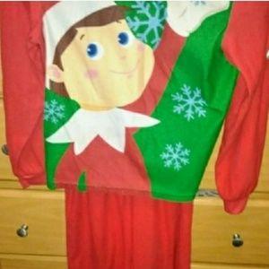 Elf on the shelf PJ set